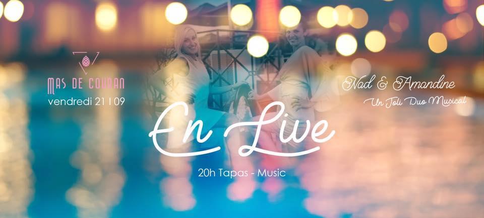 En Live w/ Nad & Amandine // 21.09.2018