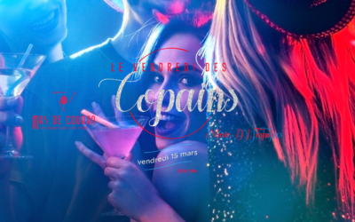 Le Vendredi des Copains // Première soirée de l'année !