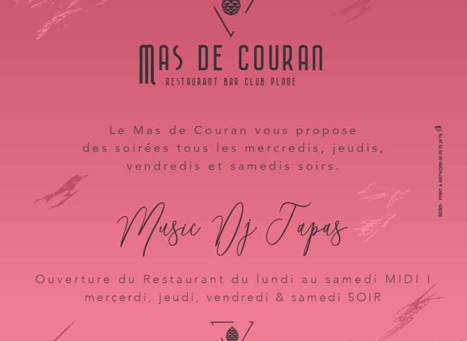 Les Soirées du Mas de Couran // Tous les mercredis, jeudis, vendredis et samedis soirs