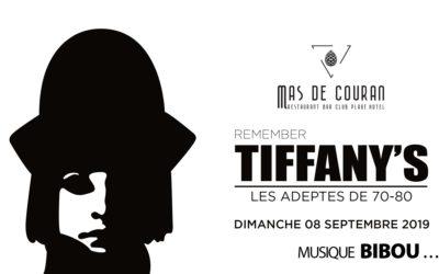 DIMANCHE 8 SEPTEMBRE → Remember Tiffany's Part. II