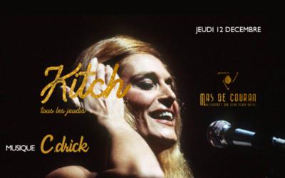 JEUDI 12 DÉCEMBRE → La Kitch du Mas de Couran