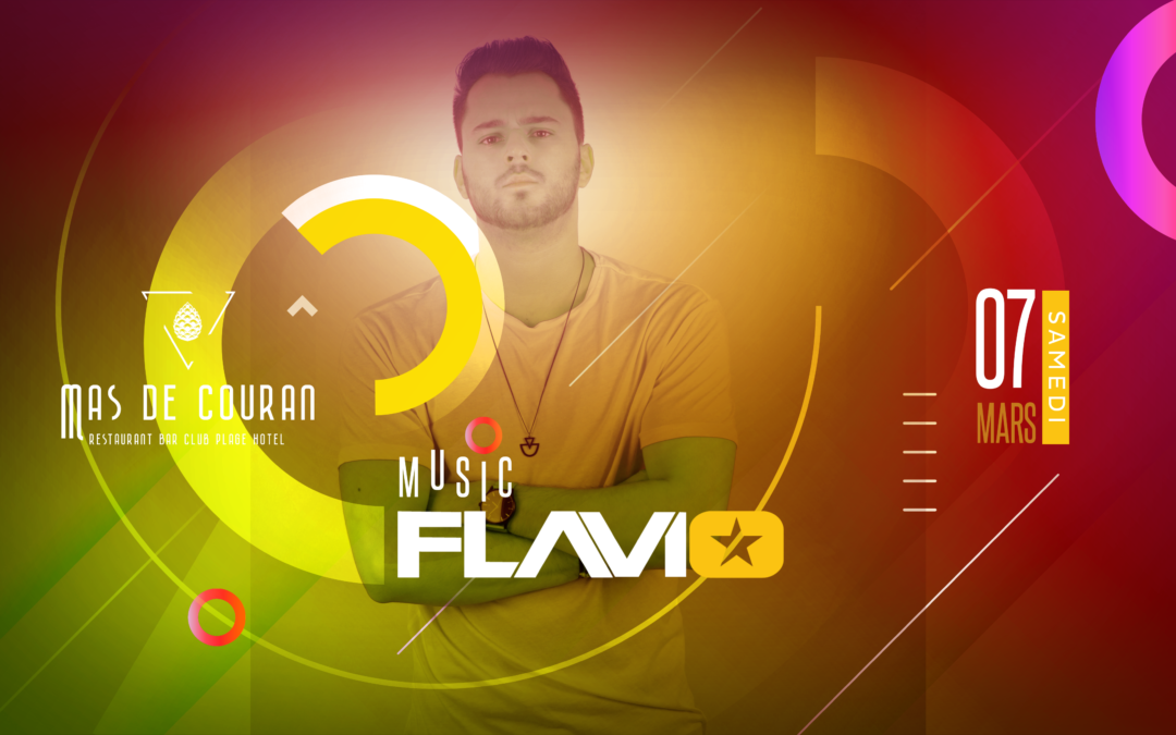 SAMEDI 07 MARS > Flavio au Mas de Couran